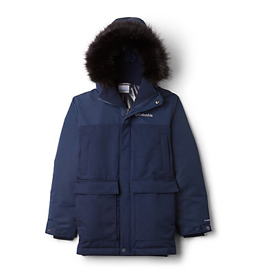 Boys' Boundary Bay Down Parka , front
