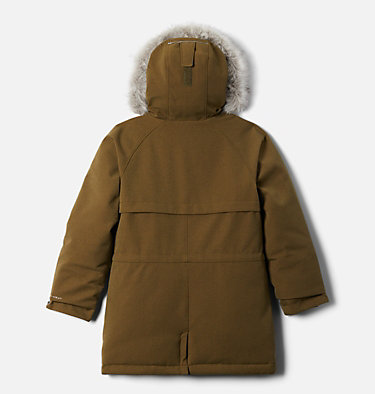 Girls' Boundary Bay™ Down Parka Boundary Bay™Down Parka | 327 | XXS, New Olive, back