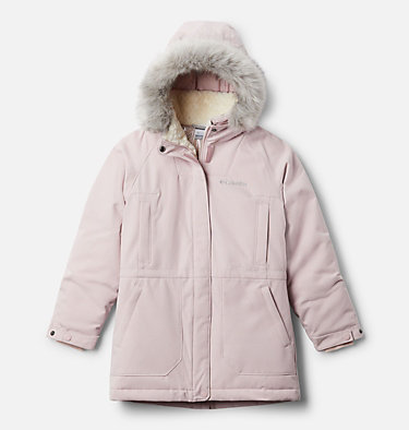 Girls' Boundary Bay™ Down Parka Boundary Bay™Down Parka | 327 | XXS, Mineral Pink, front