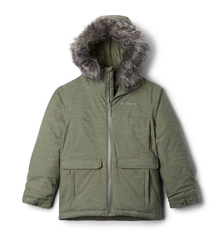 Basin Butte™ Casual Ski Jacket | 316 | XXS Veste de Ski Casual Basin Butte™ Junior, Cypress, front