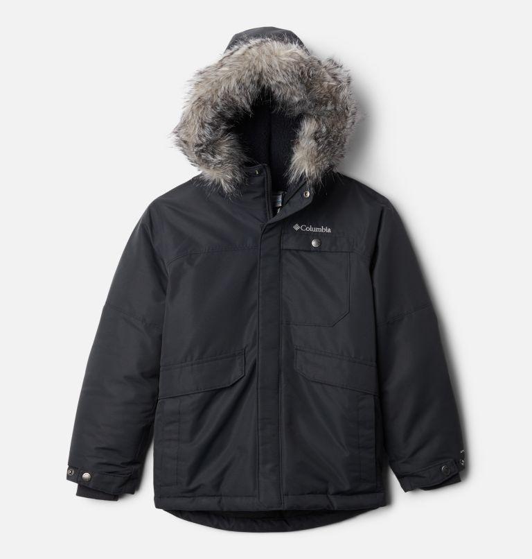 Nordic Strider™Jacket | 011 | S Boys' Nordic Strider™ Jacket, Black, front
