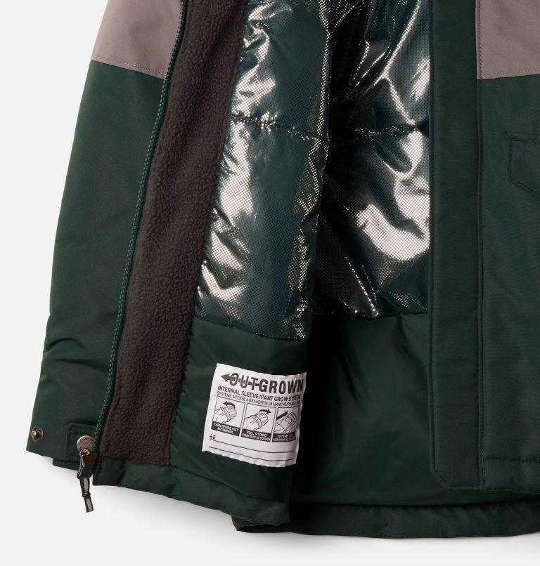 Nordic Strider™Jacket | 370 | L Boys' Nordic Strider™ Jacket, Spruce, City Grey, a1