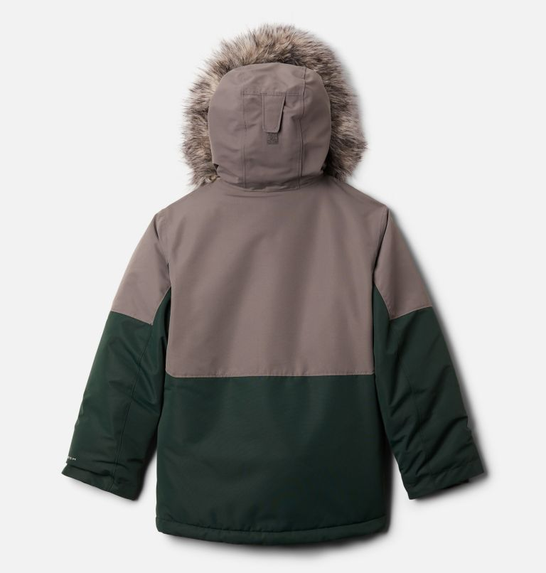 Nordic Strider™Jacket | 370 | L Boys' Nordic Strider™ Jacket, Spruce, City Grey, back