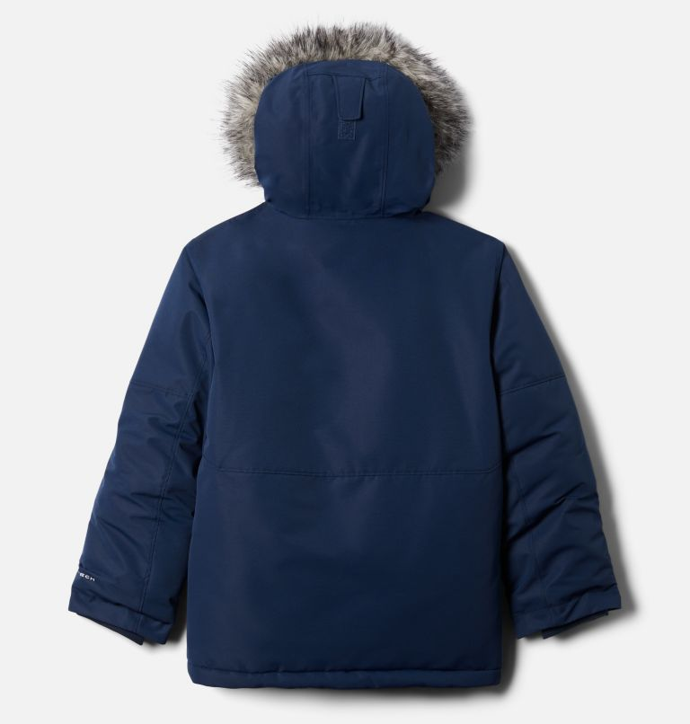 Nordic Strider™ Jacket | 465 | XL Boys' Nordic Strider™ Jacket, Collegiate Navy, back