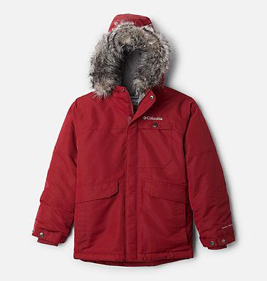 Boys' Nordic Strider™ Jacket Nordic Strider™Jacket | 664 | XS, Red Jasper, front