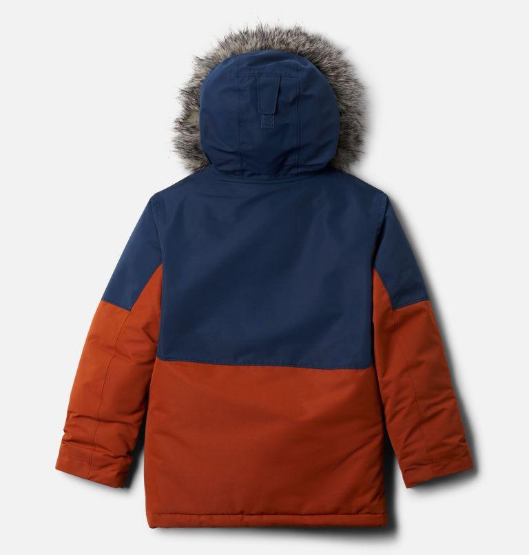 Nordic Strider™Jacket | 885 | XL Boys' Nordic Strider™ Jacket, Dark Adobe, Collegiate Navy, back