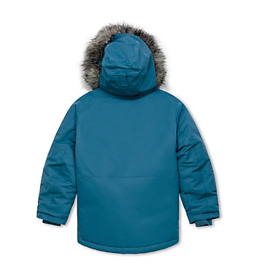 Nordic Strider Jacke für Jungen Nordic Strider™ Jacket | 407 | L, Blue Heron, back