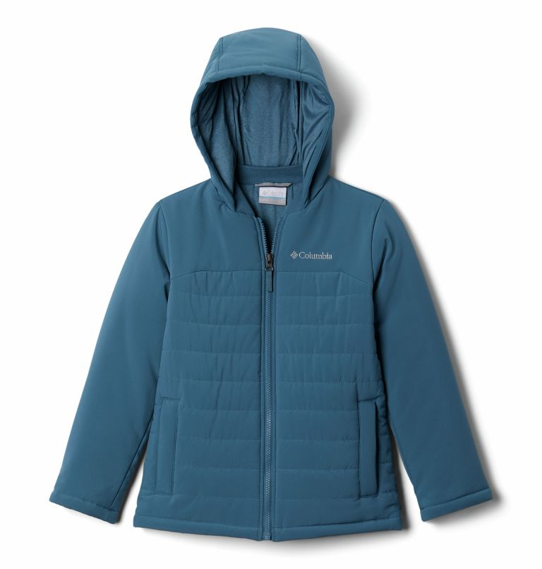 Outdoor Bound™ Stretch Jacket | 407 | S Boys' Outdoor Bound™ 4-Way Stretch Jacket, Blue Heron, front
