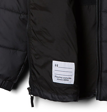 Manteau matelassé à glissière pleine longueur Puffect™ II pour garçon Puffect™ II Puffer Full Zip   010   L, Black, a1