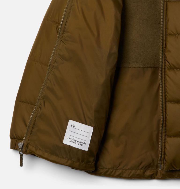 Puffect™ II Puffer Full Zip | 327 | S Boys' Puffect II Puffer Full-Zip Jacket, New Olive, a1