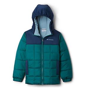 Manteau matelassé à glissière pleine longueur Puffect™ II pour garçon