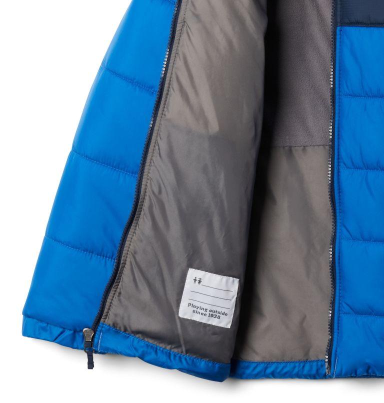 Puffect™ II Puffer Full Zip   432   M Boys' Puffect II Puffer Full-Zip Jacket, Bright Indigo, Collegiate Navy, a1