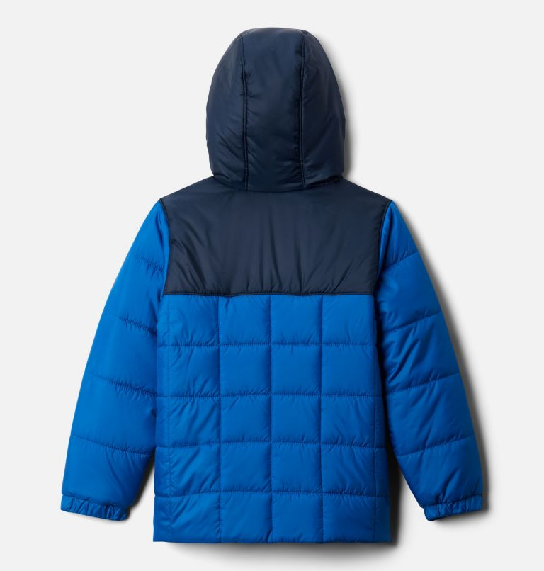 Puffect™ II Puffer Full Zip | 432 | XS Boys' Puffect II Puffer Full-Zip Jacket, Bright Indigo, Collegiate Navy, back