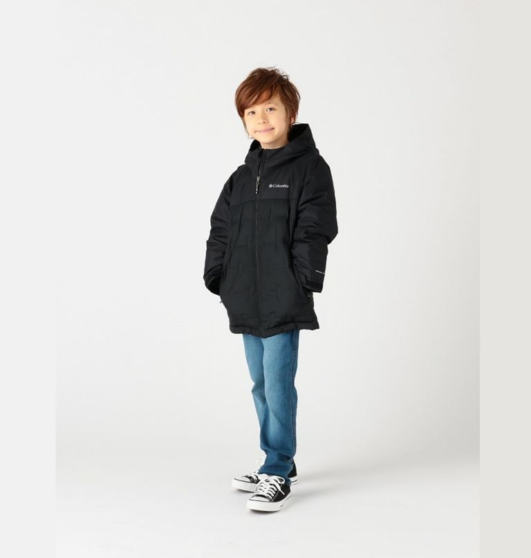 Grand Trek™Down Jacket | 010 | S Youth Grand Trek™Down Jacket, Black, front