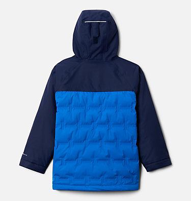 Kids' Grand Trek™ Down Jacket Grand Trek™Down Jacket | 432 | XL, Bright Indigo, Collegiate Navy, back