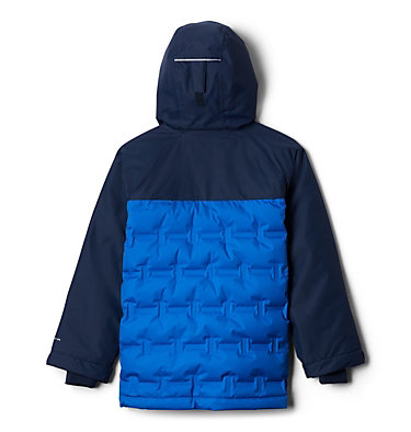 Kids' Grand Trek™ Down Jacket Grand Trek™Down Jacket | 576 | L, Super Blue, Collegiate Navy, back