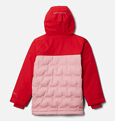 Youth Grand Trek™Down Jacket Grand Trek™Down Jacket | 010 | L, Red Lily, Pink Orchid, back