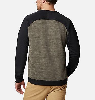 Men's Tech Trail™  Midlayer Crew Shirt Tech Trail™ Midlayer Crew   844   XL, Stone Green, Black, back