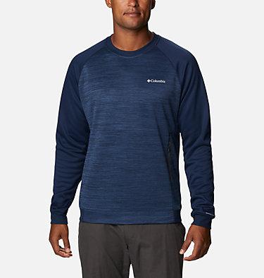 Men's Tech Trail™  Midlayer Crew Shirt Tech Trail™ Midlayer Crew   844   XL, Collegiate Navy, front
