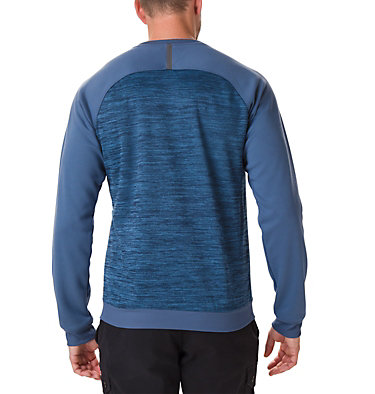 Sweat Ras Du Cou Tech Trail Midlayer Homme , back