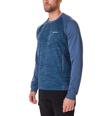 Fleece Tech Trail Midlayer Crew da uomo , front