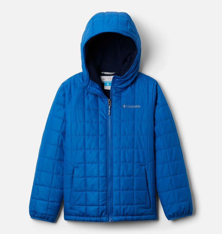 Rugged Ridge™Sherpa Lined Jacket | 432 | L Boys' Rugged Ridge™ Sherpa Lined Jacket, Bright Indigo, front