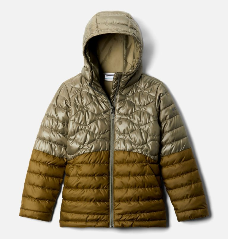 Humphrey Hills™Puffer | 397 | XS Girls' Humphrey Hills™ Puffer Jacket, Stone Green, New Olive, front