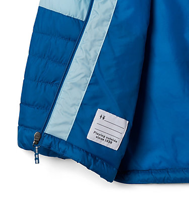 Girls' Humphrey Hills™ Puffer Jacket Humphrey Hills™Puffer | 689 | XS, Dark Pool, Spring Blue, a1