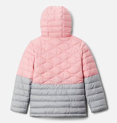 Girls' Humphrey Hills™ Puffer Jacket Humphrey Hills™Puffer | 689 | XS, Pink Orchid, Columbia Grey, back