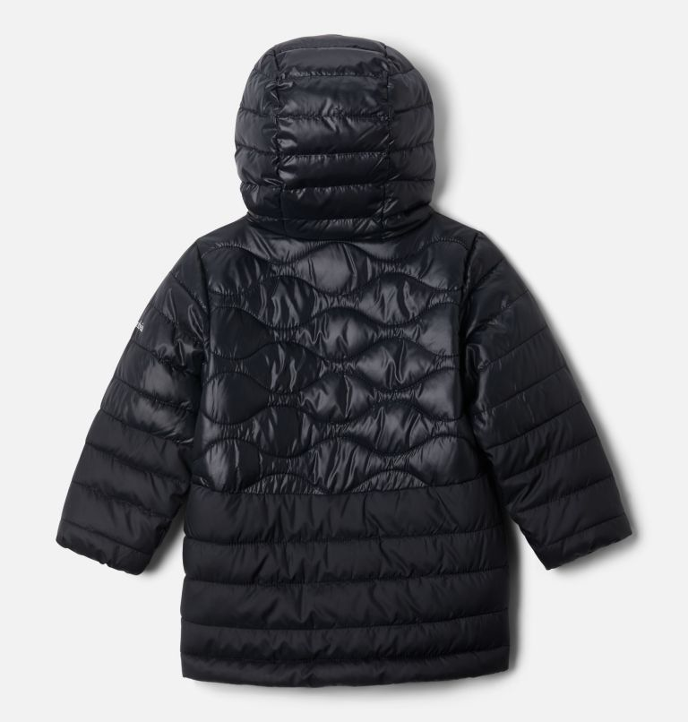 Humphrey Hills™ Puffer | 011 | 4T Girls' Toddler Humphrey Hills™ Puffer Jacket, Black, back