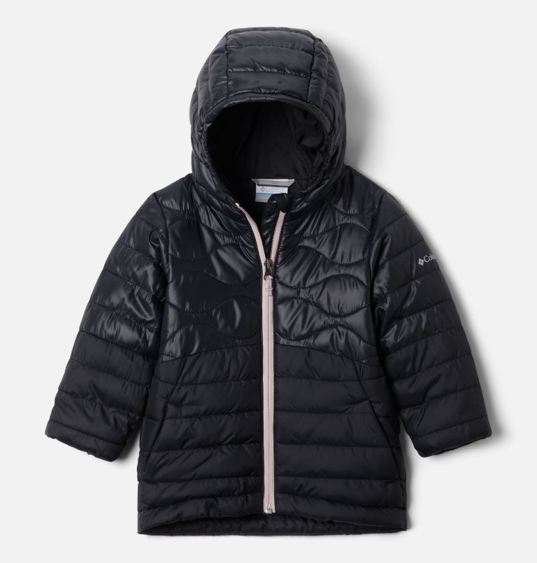 Humphrey Hills™ Puffer | 011 | 4T Girls' Toddler Humphrey Hills™ Puffer Jacket, Black, front