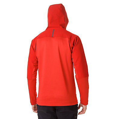 Men's Maxtrail™ Midlayer Hoodie Maxtrail™ Midlayer Top | 010 | S, Mountain Red, back