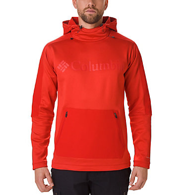 Men's Maxtrail™ Midlayer Hoodie Maxtrail™ Midlayer Top | 010 | S, Mountain Red, front