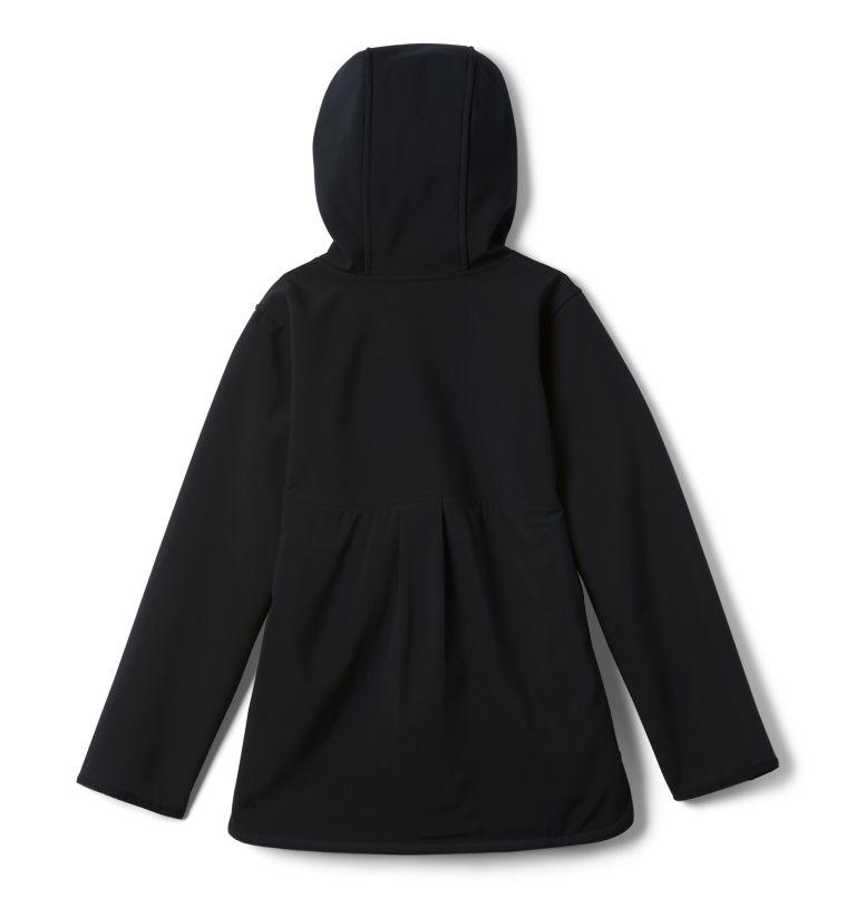 Manteau long à coquille souple avec glissière pleine longueur Winter Whirl™ pour fille Manteau long à coquille souple avec glissière pleine longueur Winter Whirl™ pour fille, back