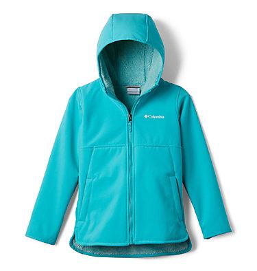 Manteau long à coquille souple avec glissière pleine longueur Winter Whirl™ pour fille Winter Whirl™Long Softshell F | 695 | L, Geyser, front