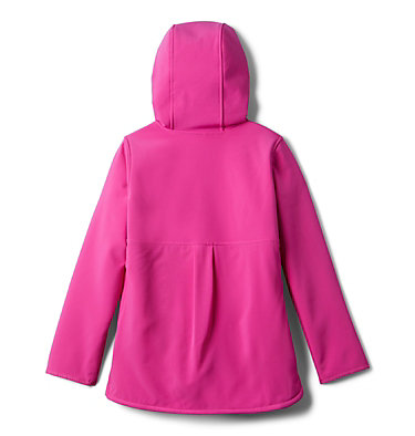 Manteau long à coquille souple avec glissière pleine longueur Winter Whirl™ pour fille Winter Whirl™Long Softshell F | 695 | L, Pink Ice, back