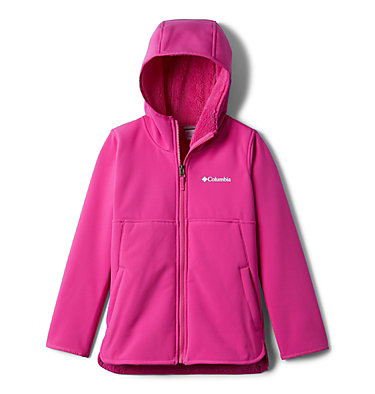 Winter Whirl™Long Softshell Full Zip Winter Whirl™Long Softshell F | 695 | L, Pink Ice, front