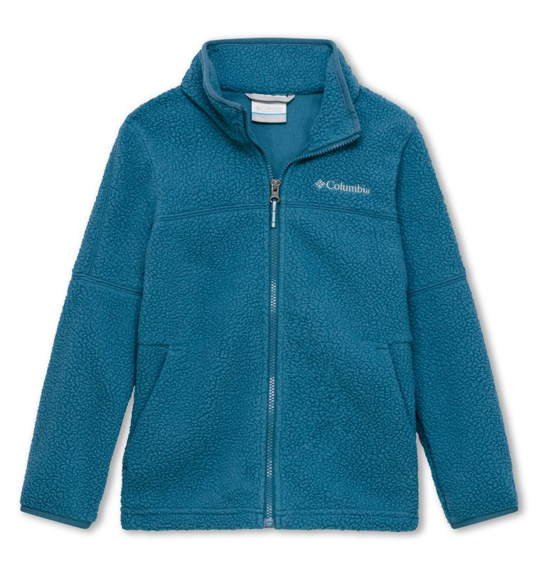 Rugged Ridge™ Sherpa Full Zip | 407 | XL Boys' Rugged Ridge Sherpa Full-Zip Jacket, Blue Heron, front