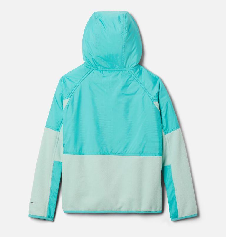 Basin Butte™ Fleece Full Zip | 310 | XS Kids' Basin Butte™ Fleece Jacket, Sea Ice, Dolphin, back