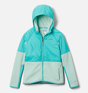 Kids' Basin Butte™ Fleece Jacket Basin Butte™ Fleece Full Zip | 432 | S, Sea Ice, Dolphin, front