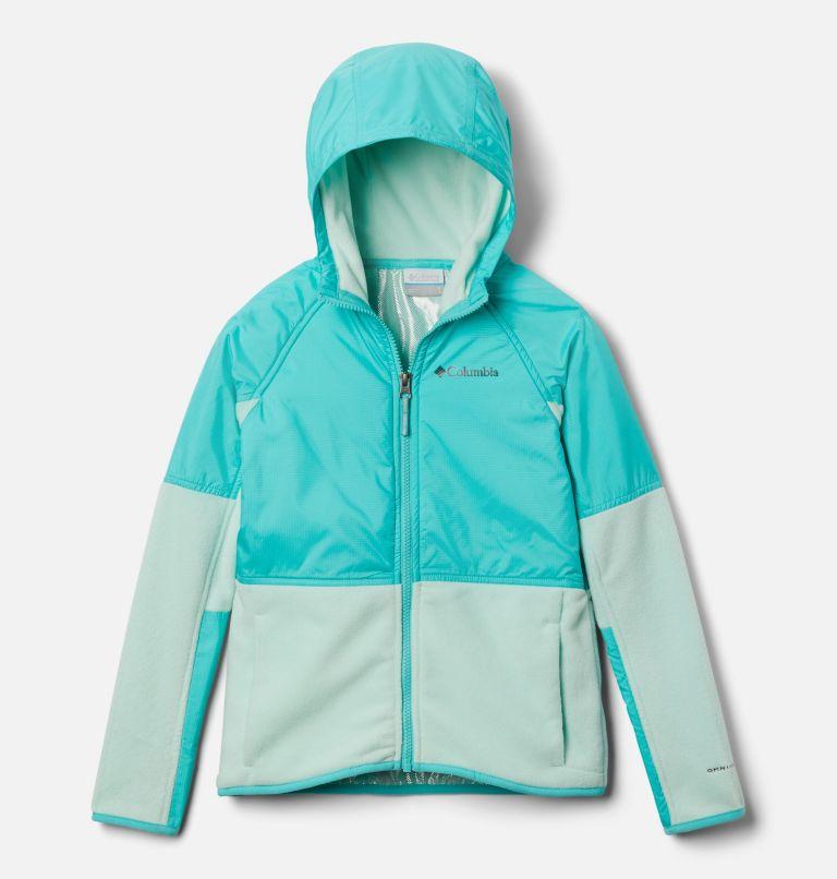 Basin Butte™ Fleece Full Zip | 310 | XS Kids' Basin Butte™ Fleece Jacket, Sea Ice, Dolphin, front