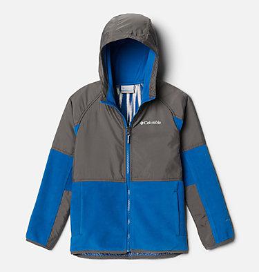 Chandail en laine polaire à fermeture éclair Basin Butte™ pour garçon Basin Butte™ Fleece Full Zip | 432 | S, Bright Indigo, City Grey, front