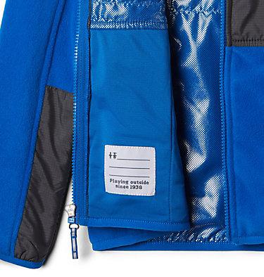 Kids' Basin Butte™ Fleece Jacket Basin Butte™ Fleece Full Zip | 432 | S, Super Blue, Grill, a1