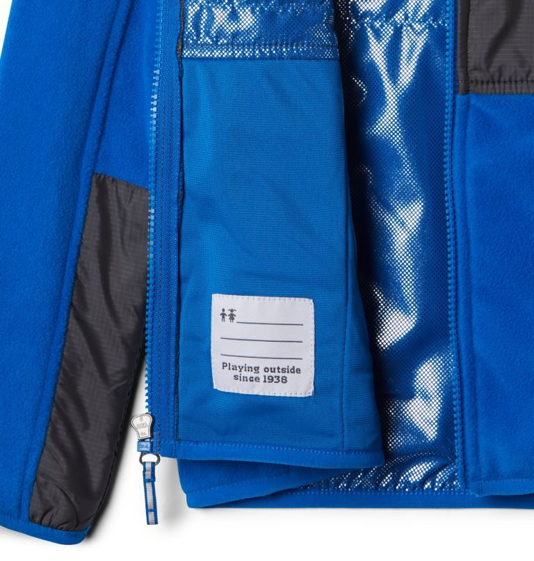 Basin Butte™ Fleece Full Zip   438   M Kids' Basin Butte™ Fleece Jacket, Super Blue, Grill, a1