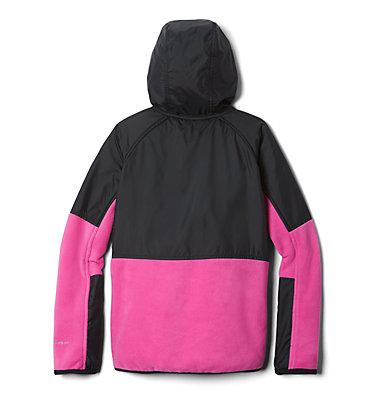 Kids' Basin Butte™ Fleece Jacket Basin Butte™ Fleece Full Zip | 432 | S, Pink Ice, Black, back