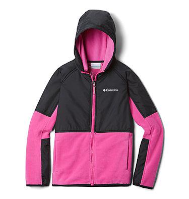 Kids' Basin Butte™ Fleece Jacket Basin Butte™ Fleece Full Zip | 432 | S, Pink Ice, Black, front