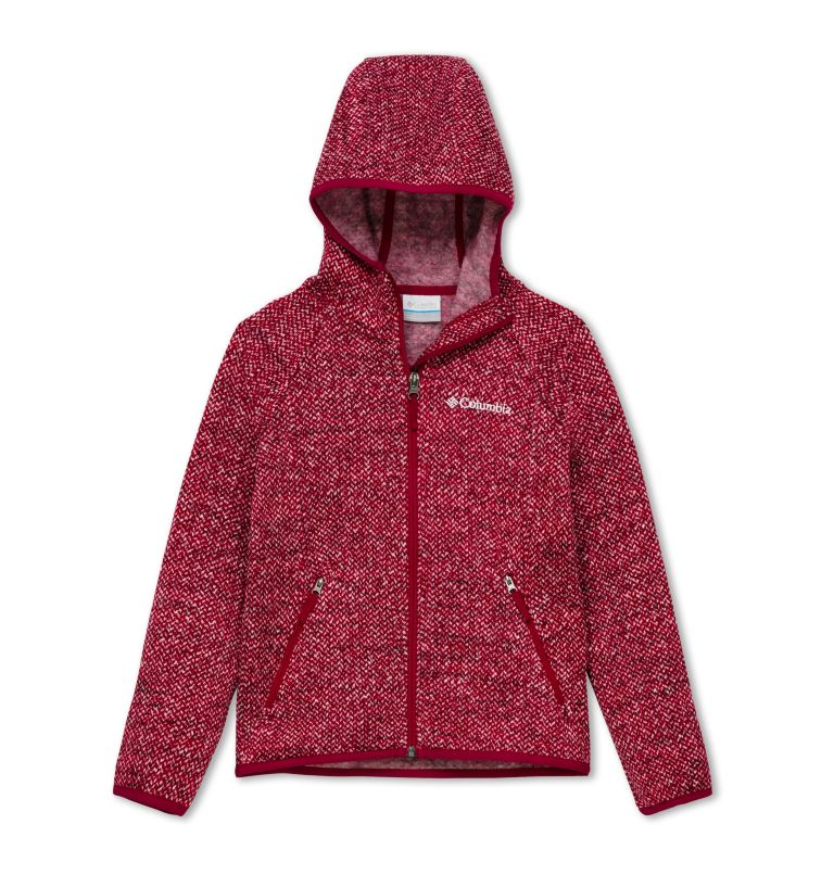 Chillin™ Full Zip Fleece | 623 | XL Polaire Zippée Chillin™ Junior, Pomegranate, front