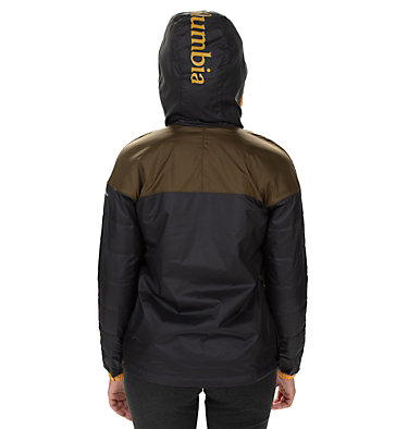 Women's Columbia Lodge Pullover Jacket Columbia Lodge™ Pullover Jacke | 191 | S, Black, Olive Green, back