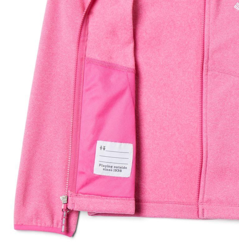 Muir Pass™Fleece Full Zip | 695 | XL Kids' Muir Pass™Fleece Jacket, Pink Ice, Pink Clover Stripe, a3