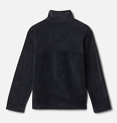 Kids' Steens Mountain™ 1/4 Snap Fleece Pull-Over Steens Mtn™ 1/4 Snap Fleece Pull-over | 013 | L, Black, back